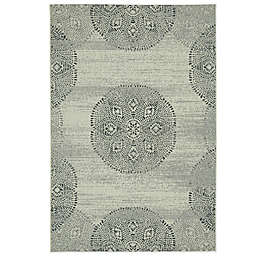 Genevieve Gorder by Capel Rugs Finesse Mandala Woven Rug