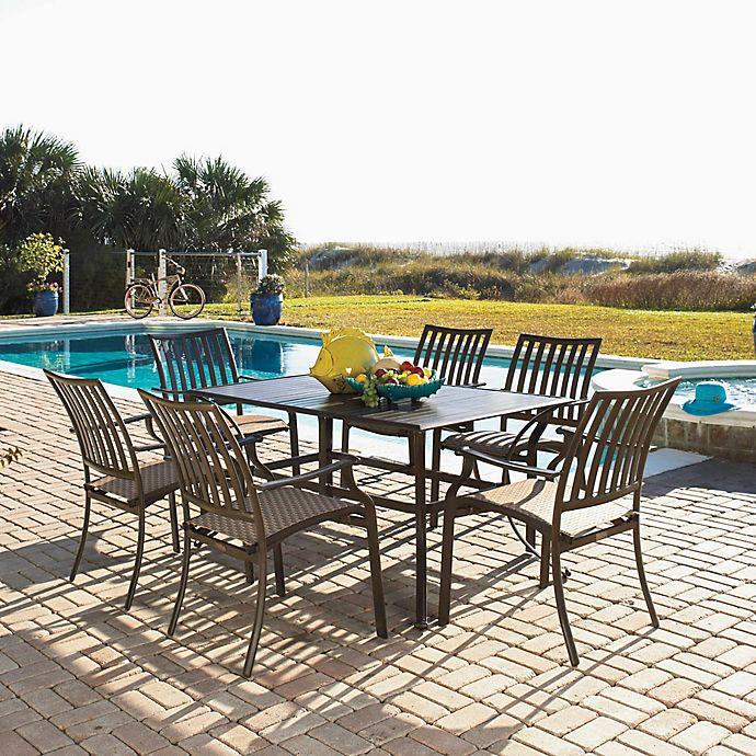 Cool Panama Jack Island Breeze 9 Piece Outdoor Dining Set Bed Cjindustries Chair Design For Home Cjindustriesco