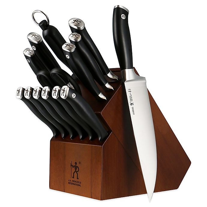 Alternate image 1 for J.A. Henckels International Forged Elite 15-Piece Knife Block Set