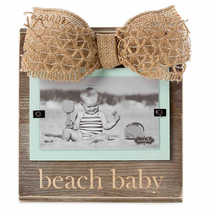 Mud Pie 174 Quot Beach Baby Quot 3 Inch X 5 Inch Picture Frame Bed