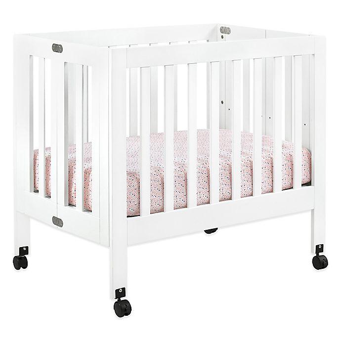 Alternate image 1 for Babyletto Origami Mini Crib in White