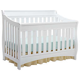 "Delta Children Bentley ""S"" Series 4-in-1 Convertible Crib in White"