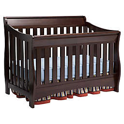 Delta Bentley S Series 4-in-1 Convertible Crib in Chocolate