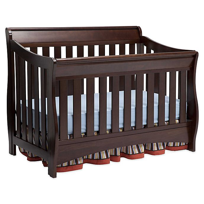 Alternate image 1 for Delta Children Bentley S Series 4-in-1 Convertible Crib in Chocolate