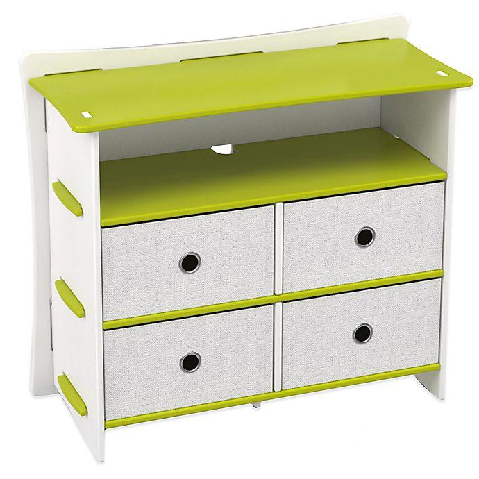 Alternate image 1 for Legare® Frog 5-Shelf Tool-Free Dresser in Lime