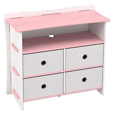 Legare® Princess 5-Shelf Tool-Free Dresser in Pink
