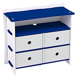 Legare® Blue Racer 5-Shelf Tool-Free Dresser in Blue
