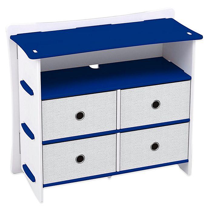 Alternate image 1 for Legare® Blue Racer 5-Shelf Tool-Free Dresser in Blue