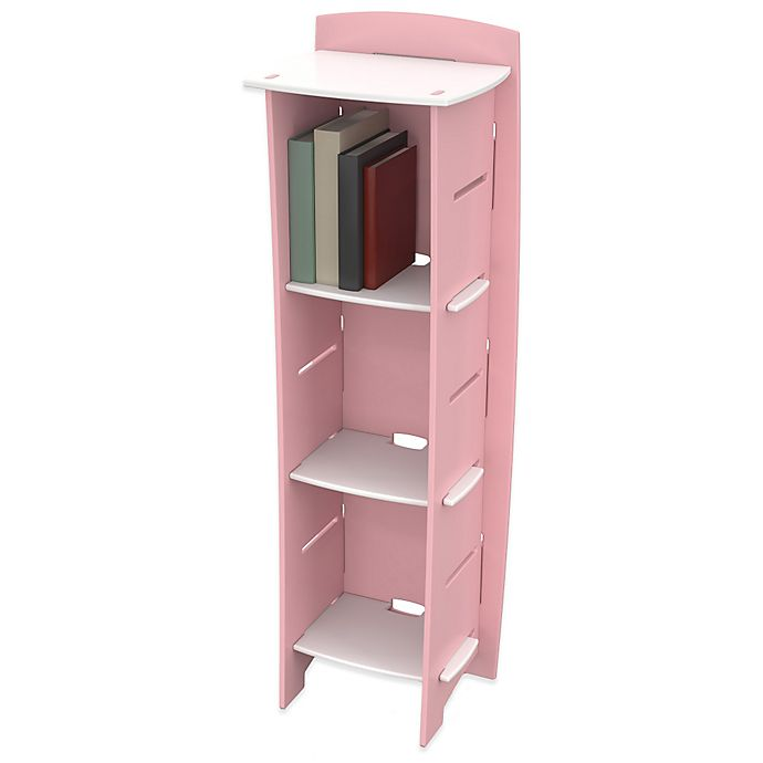Alternate image 1 for Legare® Princess 6-Shelf Tool-Free Bookcase in Pink