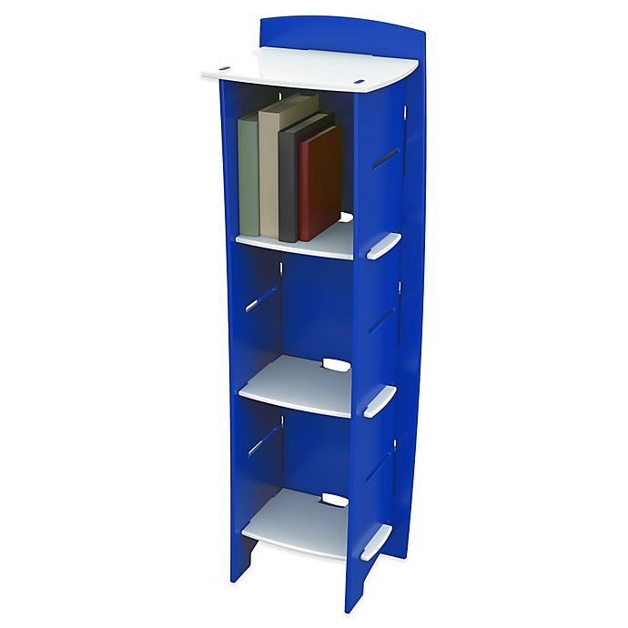 Alternate image 1 for Legare® Blue Racer 6-Shelf Tool-Free Bookcase in Blue