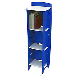 Legare® Blue Racer 6-Shelf Tool-Free Bookcase in Blue