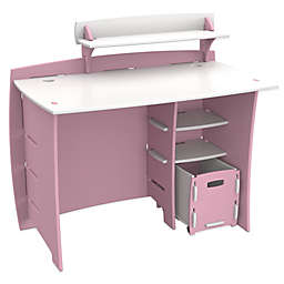 Legare® Tool-Free Princess Multi-Pack Desk System in Pink/White