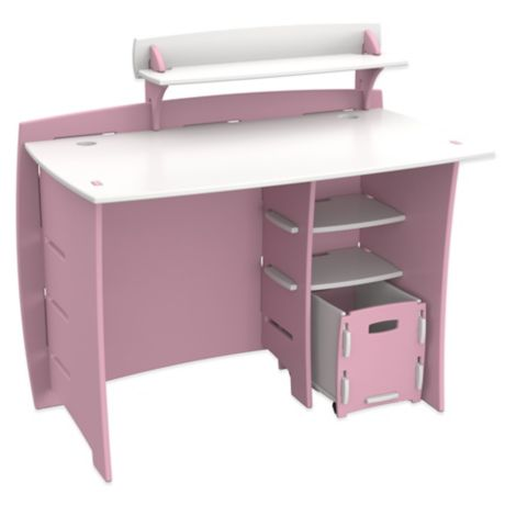 Legare 174 Tool Free Princess Multi Pack Desk System In Pink