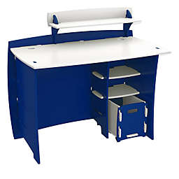 Legare® Tool-Free Racer Multi-Pack Desk System in Blue/White