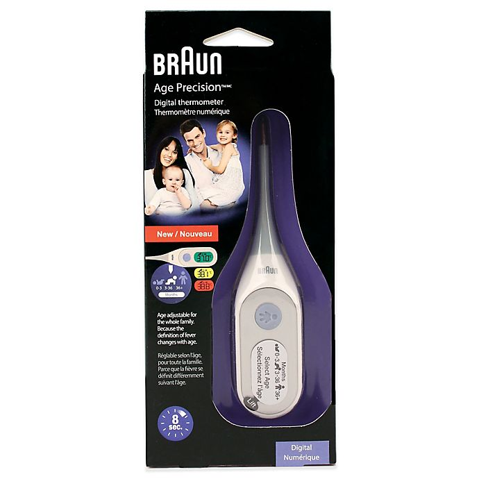 Alternate image 1 for Braun® AgePrecision™ Digital Thermometer