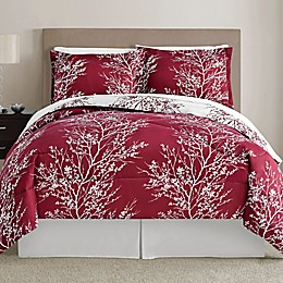 Leaf 8-Piece Reversible Comforter Set