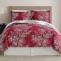 Leaf 8-Piece Reversible Comforter Set