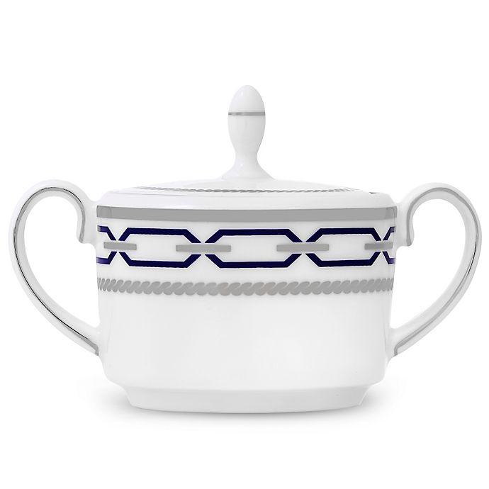 Alternate image 1 for Vera Wang Wedgwood® With Love Nouveau Indigo Imperial Sugar Bowl