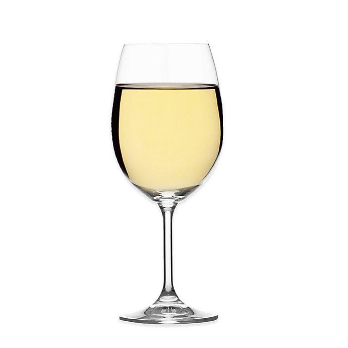 Alternate image 1 for Mikasa® Laura White Wine Glass (Set of 4)