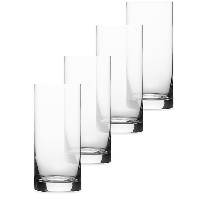 Alternate image 1 for Mikasa® Laura Double Highball Glass (Set of 4)