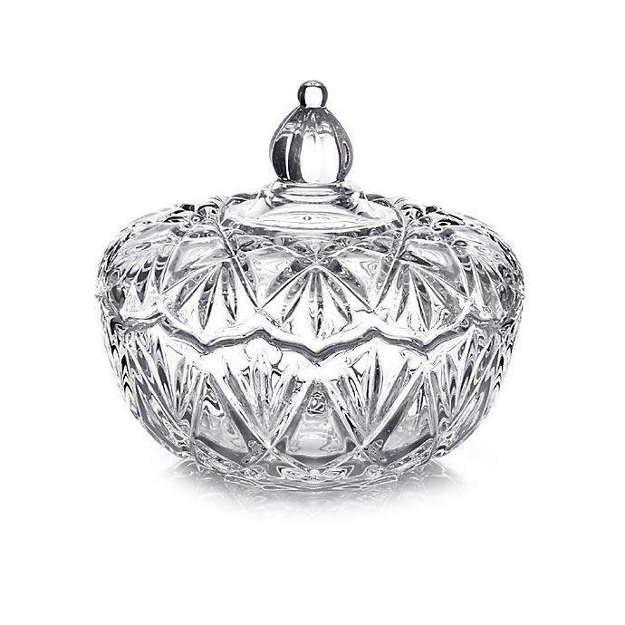 Alternate image 1 for Mikasa® Saturn Covered Candy Dish