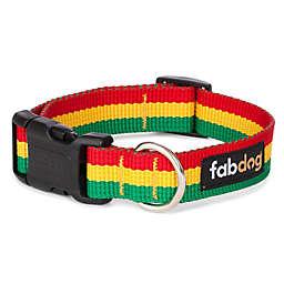 Fab Dog® Rasta Dog Collar