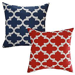 Eli Square Throw Pillow (Set of 2)
