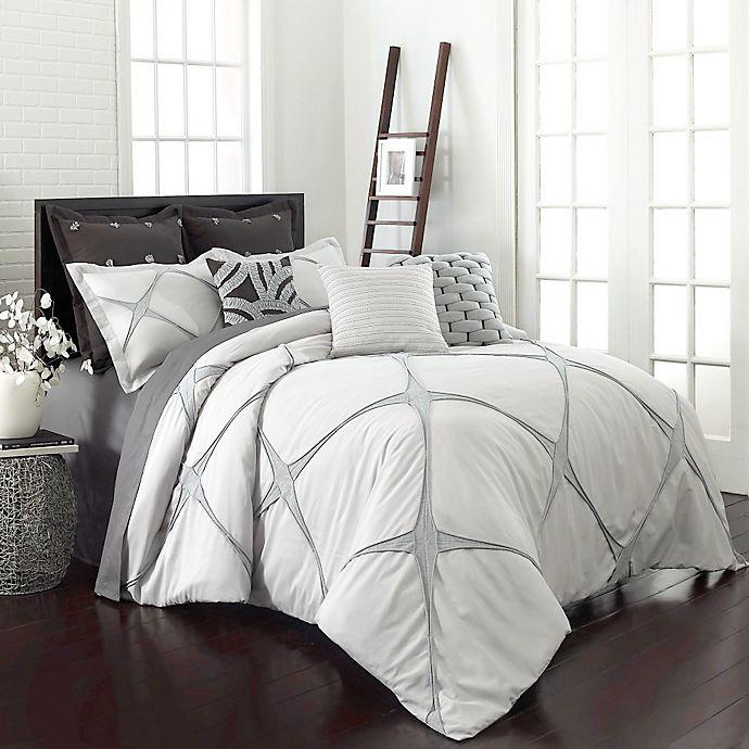 Alternate image 1 for Vue® Cersei Comforter Set in Cream