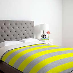 Deny Designs Holli Zollinger Bright Stripe Duvet Cover