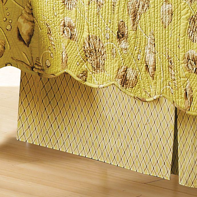 Alternate image 1 for Calypso Shells King Bed Skirt