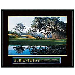 Achievement: Golf Framed Print Wall Art