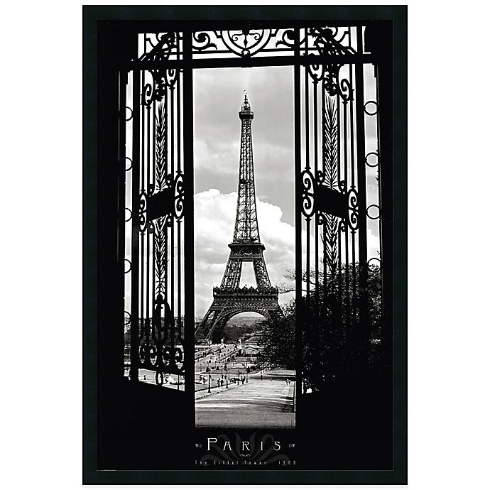 Alternate image 1 for Eiffel Tower 1909 Wall Art