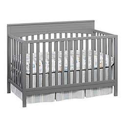 Oxford Baby Harper 4-in-1 Convertible Crib in Dove Grey