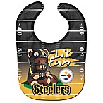 NFL Pittsburgh Steelers  Lil' Fan  Teddy Bear Bib