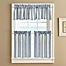 Part of the Ropes Window Curtain Tier Pair in Blue