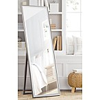 Cheval 59.5-Inch x 19-Inch Thin Profile Floor Standing Mirror in Pewter