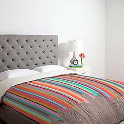 Deny Designs Iveta Abolina Stripe Happy Duvet Cover