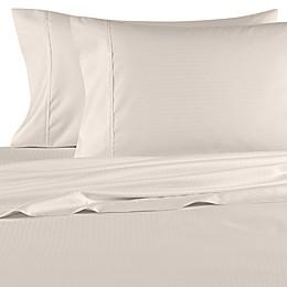Wamsutta® 620-Thread-Count Cotton Deep Pocket Stripe Sheet Set