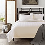LaMont Home Chevron Full/Queen Coverlet in Ivory