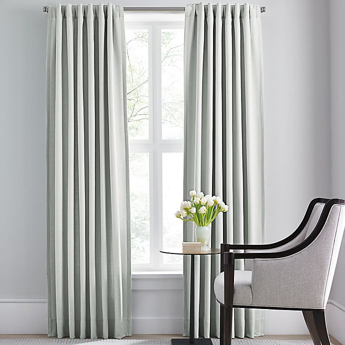 Alternate image 1 for Barbara Barry Modern Drape Rod Pocket/Back Tab Window Curtain Panel
