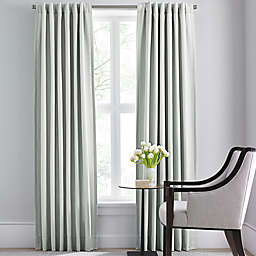 Barbara Barry Modern Drape Rod Pocket/Back Tab Window Curtain Panel