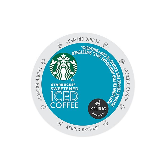 Keurig K Cup Pack 16 Count Starbucks Sweetened Iced Coffee