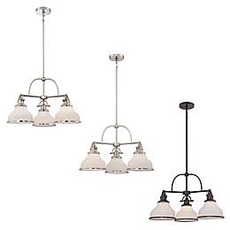 Quoizel® Grant 3-Light Ceiling-Mount Dinette Chandelier