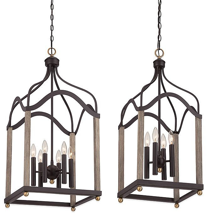 Buy Quoizel Bordergate 6-Light Ceiling-Mount Cage