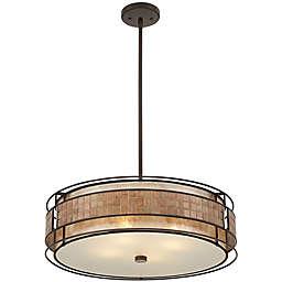 Quoizel Laguna 4-Light Pendant in Renaissance Copper