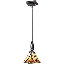 Quoizel Asheville Pendant Light in Valiant Bronze