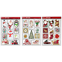 Lindy Bowman 50-Count Deluxe Assorted Holiday Gift Tags