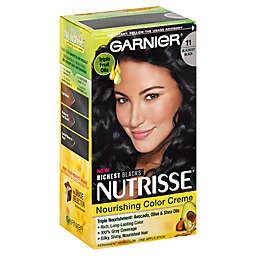 Garnier Nutrisse® Nourishing Color Creme in Blackest Black