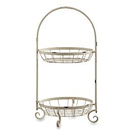 Linon Home Maison Rustic Bath Basket