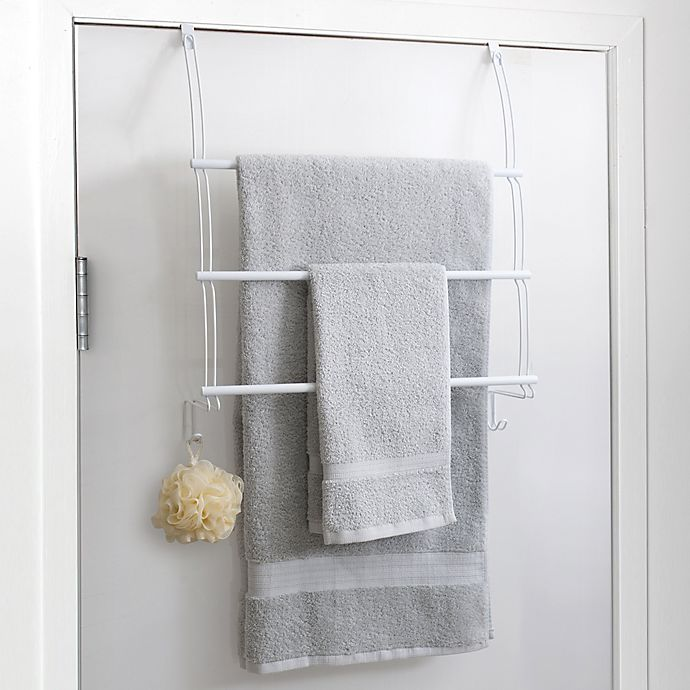 Over The Door Towel Rack Bathroom: Totally Bath Over The Door Towel Bar